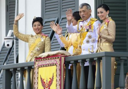 پادشاه تایلند به همراه ۲۰ زن در آلمان قرنطینه شد