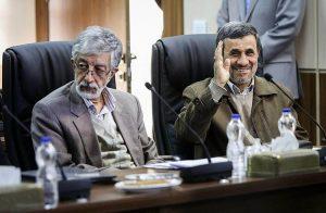 محمود احمدی نژاد حدادعادل را به توپ بست
